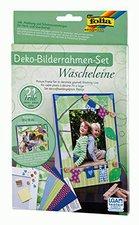 Folia Bilderrahmen Set Wäscheleine 10x15 (21 Teile)