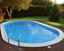 my pool Trend Ovalform Tiefbecken-Set 7,0 x 3,0 x 1,2 m