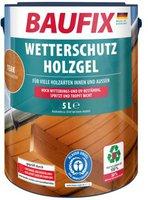 Baufix Wetterschutz-Holzgel Teak 5 Liter (verschiedene Dekore)