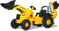 Rolly Toys rollyKid New Holland Construction W 190 mit Lader und Heckbagger (813117)