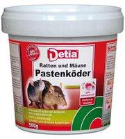 Detia Ratten und Mäuse Pastenköder 500 g