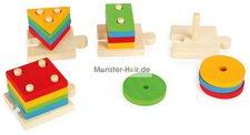 Small Foot Design Steckspiel Formen