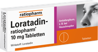 ratiopharm Loratadin 10 mg Tabletten (50 Stk.)