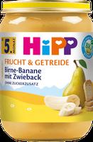 Hipp Frucht & Getreide Birne-Banane mit Zwieback