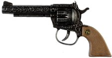 J.G. Schrödel Pistole Sheriff antik