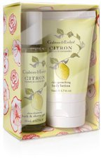 Crabtree & Evelyn Citron, Honey & Coriander Duo Set (2 x 50 ml)