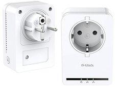 D-Link Powerline AV 500 Passthrough Mini Adapter Starter Kit (DHP-P309AV)