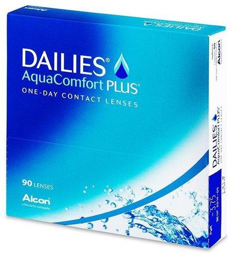 Ciba Vision Focus Dailies AquaComfort PLUS -3,75 (90 Stk.)