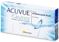 Johnson & Johnson Acuvue Oasys with Hydraclear Plus -4,25 (6 Stk.)