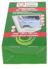 UNIMET Fliegengitter für Dachfenster anthrazit (150 x 180 cm)