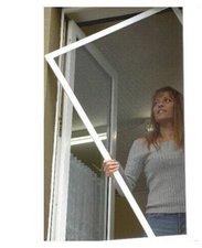 UNIMET Fliegengitter für Fenster braun (150 x 150 cm)