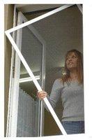 UNIMET Fliegengitter für Fenster braun (120 x 150 cm)