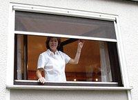 UNIMET Fliegengitter für Fenster weiß (130 x 160 cm)