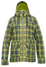 Burton Women's Method Snowboard Jacket Gemustert