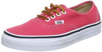 Vans Authentic Brushed Twill (salmon pink/true white)