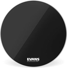 "Evans Resonant Black Bassdrum 20 """
