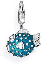 Heartbreaker Charm Blue Blowfish HB 126