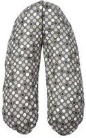 Joyfill Stillkissen Dots grau (190 x 40 cm)