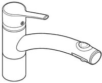 Kludi Trendo Schlauchbrause (Chrom, Hochdruck)