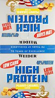 Weider 40% High Protein Bar Erdnuss-Karamell (20x100g)