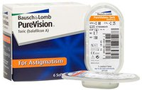 Bausch & Lomb PureVision Toric (6 Stk.) +5,50