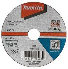 Makita Trennscheibe Ultra-Dünn, für Stahl (P-35477-10)