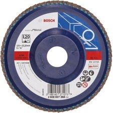 Bosch blue:Metal Fächerschleifscheiben, 125 mm (2 608 607 368)