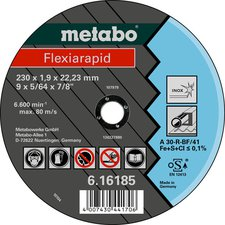 Metabo Flexiarapid Inox A 46-R 100 x 1,6 x 16 mm (6.16180.00)