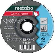 Metabo Combinator Inox A46-U 125 x 1,9 x 22,23 mm (6.16501.00)