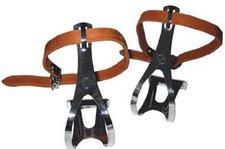 TAQ 33 Pedalhaken mit Leder - Riemen