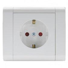 REV Schutzkontaktsteckdose, weiß 13-N870204