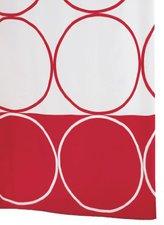 Ridder Duschvorhang Circle (180 x 200 cm) rot