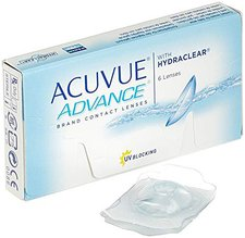 Johnson & Johnson Acuvue Advance with Hydraclear (6 Stk.) +3,50