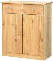 Steens Furniture Ltd Mario Highboard gelaugt geölt 2 Schubladen 2 Türen (027-01/30)