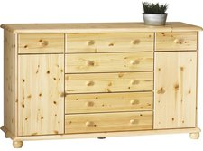 Steens Furniture Ltd 20223130 Sideboard Max 93 x 157 x 49 cm Kiefer massiv gelaugt geölt