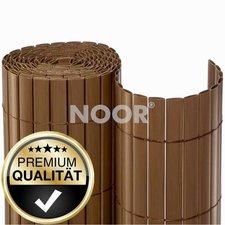 Noor Sichtschutzmatte PVC 90 x 300 cm braun