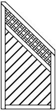 Osmo Skagen Sichtblende 89 x 178 cm