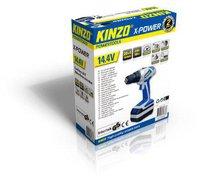 Kinzo X-power Akku-Bohrschrauber 14,4 V