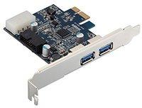 Sempre PCIe USB3.0 4 Port 2x extern 1x 19pin (UP33-I19)