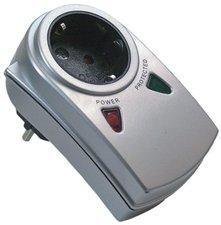 AS Schwabe Überspannungsschutz-Adapter mit 2 LED Funktionsanzeigen (18610)