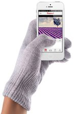 mujjo Touchscreen Gloves Coral Lavender Größe S/M