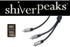 shiverpeaks 40063-SPP Professional Cinch Y-Kabel (3m)