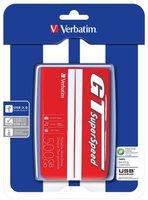 Verbatim GT SuperSpeed USB 3.0 500GB rot