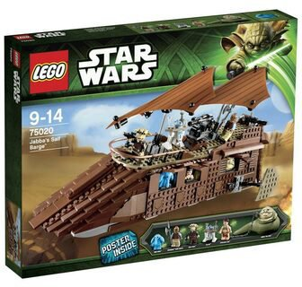 LEGO Star Wars - Jabbas Sail Barge (75020)