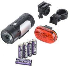 Monz Blue Bird LED-Batterielampenset (62927)