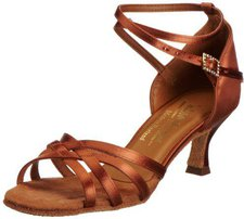 International Dance Shoes Melissa Tan Satin