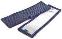 MEGA Clean Mikrofaser Borstenmopp mit Taschen 40 cm