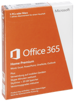 Microsoft MS Office 365 Home Premium (DE) (Win) (PKC) (1 Jahr)