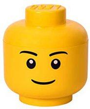 LEGO Aufbewahrungs Kopf groß Boy L