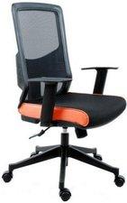 Bürostuhl24 Lavita Bürostuhl (Netzstoff schwarz-orange)